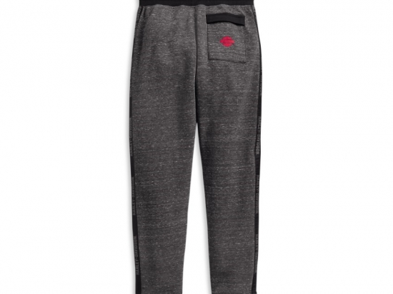 PANTS-SIDE TAPE,ACTIVE,KNT,GRY