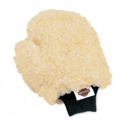 WASH MITT, WOOL BLEND W/THUMB