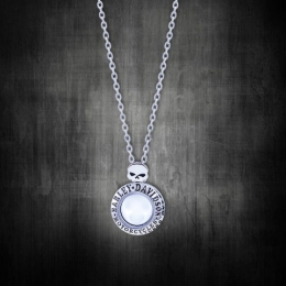 WILLIE G SKULL CIRCLE RIDE LOCKET