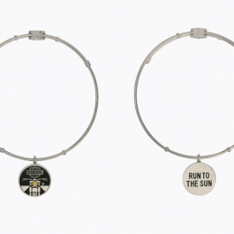RUN TO THE SUN CHARM BANGLE