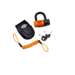 SHACKLE LOCK,W/POUCH &CORD