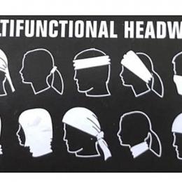 MULTIFUNCTIONAL HEADWEAR RWB #1