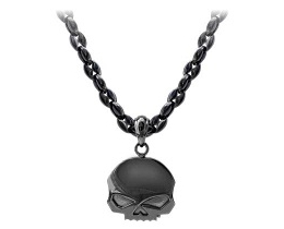BLACKOUT  SKULL NECKLACE