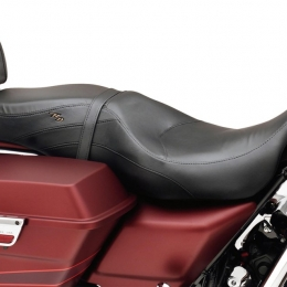 LEATHER LOW-PROFILE SEAT, FLT