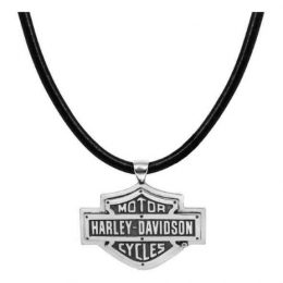 HD B&S WITH RIVETS NECKLACE