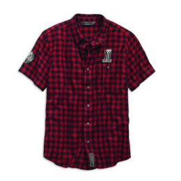 SHIRT-AMERICAN MUSCLE,S/S,WVN,