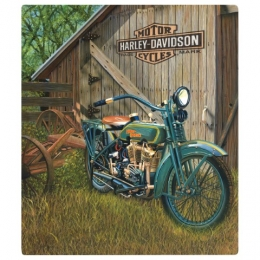 HD 1923 F-HEAD TWIN TIN SIGN