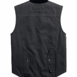 VEST-QUILTED,WORKWEAR,S/L,WVN,