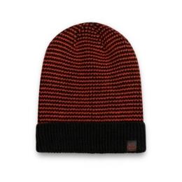 HAT-KNIT,ORANGE
