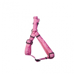 """5/8"""" HARNESS PINK FLAMES"""