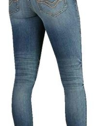 JEANS-SKINNY,LOW/RISE,MED.INDI