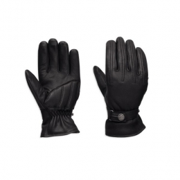 GLOVE-F/F,BLISS,LTHR,BLK